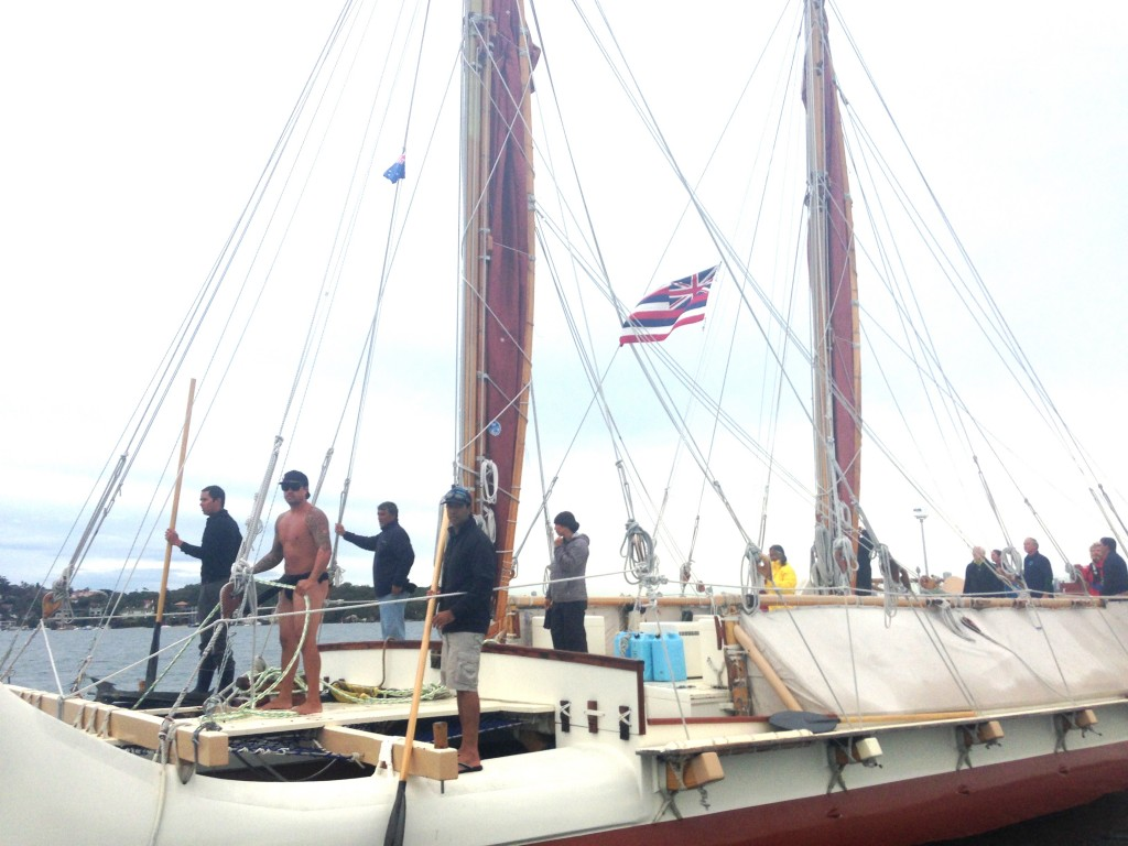 Hokulea at Watsons Bay2