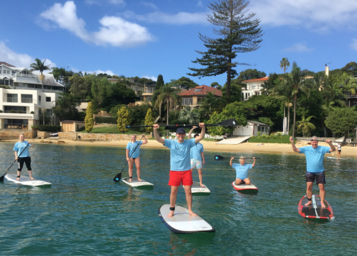 watssup social paddle boarding