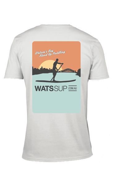 watssup concept tee back