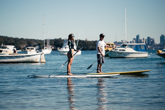 stand up paddle at watsons bay