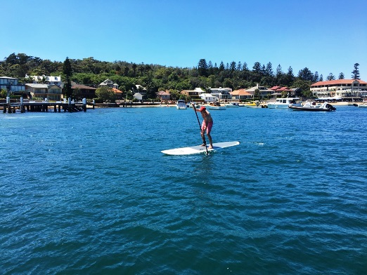 watsons bay summer paddling