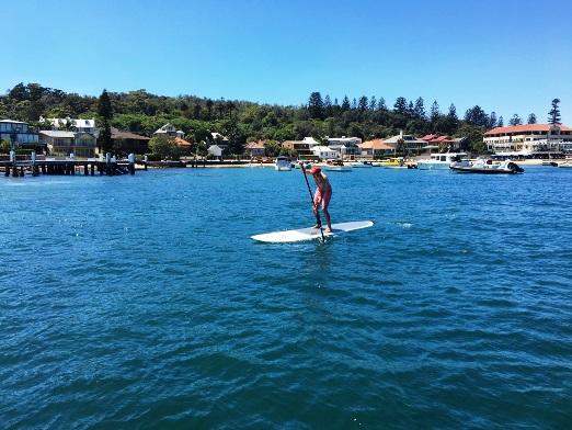 watsons bay summer paddling