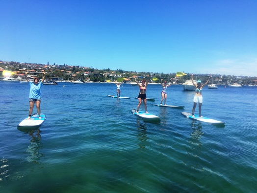 stand up paddling sydney