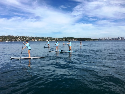 stand up paddling watsons bay