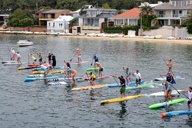 Australia Day Paddle