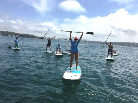 stand up paddling watsons bay