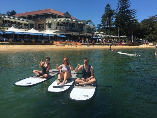 watsons bay stand up paddling spring