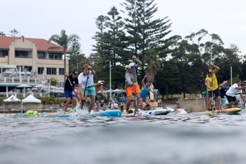 Stand Up Paddling Race Starts1